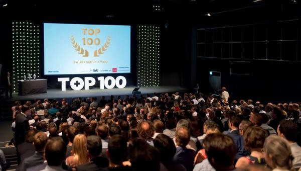 TOP 100 Startups award ceremony