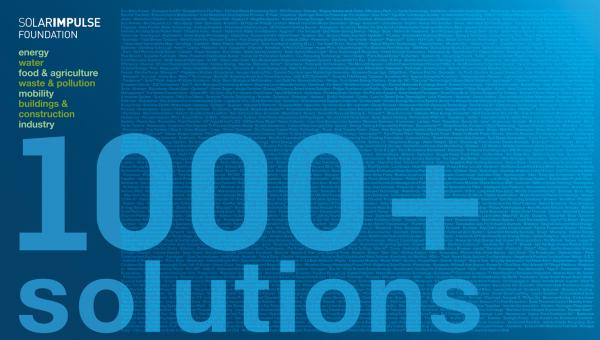 Solar Impulse Foundation: 1000+ solutions